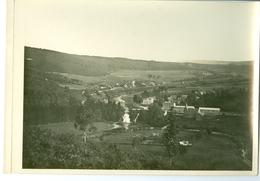 Coo Panorama Impression Brillante Sur Carton Vernis Vers 1930 24,4 X 17,5 Cm - Reproductions