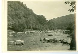 Vallée De L'Amblève. Fonds De Quarreux Impression Brillante Sur Carton Vernis Vers 1930 24,4 X 17,5 Cm - Reproductions