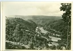 Stoumont Vallée De L'Amblève Impression Brillante Sur Carton Vernis Vers 1930 24,4 X 17,5 Cm - Reproductions