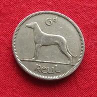 Ireland 6 Pence 1945 KM# 13a  Irlanda Irlande Ierland Eire - Ireland