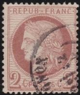 France  .      Yvert    .       51                .     O    .     Oblitéré - 1871-1875 Cérès