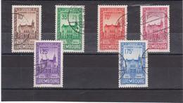 L 174 - Luxembourg (Luxemburg) - Prifix N° 290 à 295 Oblitérés (gebraucht) - Gebraucht