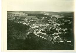 Bouillon Panorama Du Belvédère Impression Brillante Sur Carton Vernis Vers 1930 24,4 X 17,5 Cm - Reproductions