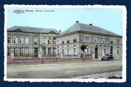 Aubange. Ecole Des Filles Et Maison Communale. Renault Juvaquatre - Aubange
