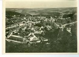 Bouillon Panorama Près Du Belvédère Impression Brillante Sur Carton Vernis Vers 1930 24,4 X 17,5 Cm - Reproductions