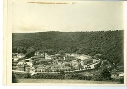 Bouillon Panorama Pris Du Calvaire Impression Brillante Sur Carton Vernis Vers 1930 24,4 X 17,5 Cm - Reproductions
