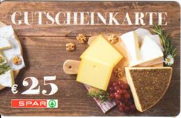 AUSTRIA - SPAR Gift Card 25 Euro, Unused - Gift Cards