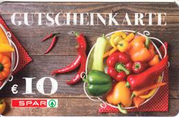 AUSTRIA - SPAR Gift Card 10 Euro, Unused - Gift Cards