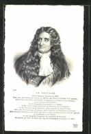 AK Portrait Des Französischen Schriftstellers Jean De La Fontaine - Writers
