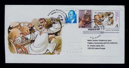"""ARMADO CABALIERO """"D.QUIXOTE"""" Comics Arts BD Spain Málaga 2006 Cover Postal Stationery Sp5570 - Comics"""