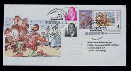 """ARMADO CABALIERO """"D.QUIXOTE"""" Comics Arts BD Spain Málaga 2006 Cover Postal Stationery Sp5571 - Comics"""