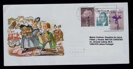 """ARMADO CABALIERO """"D.QUIXOTE"""" Comics Arts BD Spain Málaga 2006 Cover Postal Stationery Sp5572 - Comics"""