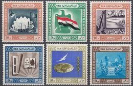 EGITTO - 1962 - Lotto Di 6 Valori Nuovi Senza Gomma: Yvert 532, 533, 535, 536, 538 E 539. - Egitto