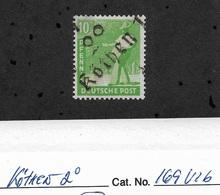 Germany 1948,Soviet Occupation Zone Kothen,Mi # 169V16,VF-XF MLH*OG (RN-II) - Soviet Zone