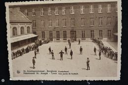 R-24 / Limbourg,Pensionnat St. Joseph - Looz  Une Partie De Football -  St. Jozefspensionaat - Borgloon / Circulé 1938 - Borgloon