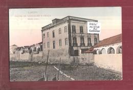 ALGARVE - FARO -LAGOS - Paços De Concelho Carte Postale Used 1923 LONDON POSTMARK SEAPOST INTEREST - Faro