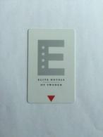 Elite Hotels Of Sweden - Hotel Keycards
