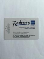 Radisson Hotel Shanghai New World - Hotel Keycards