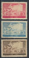 °°° CINA CHINA - Y&T N°929A/B/C - 1951 °°° - 1949 - ... People's Republic