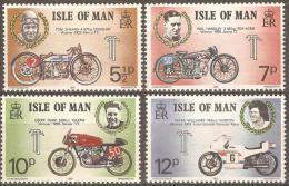 ISLE OF MAN - MNH ** 1975 Motorcycles. Scott 66-9 - Isola Di Man