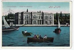 TURQUIE - CONSTANTINOPLE (Istamboul) - Palais De Beylerbey - Animée + Bateaux (H2) - Turkey