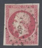 FRANCE 1859 NAPOLEON III 80c Nº 17B - 1852 Louis-Napoléon