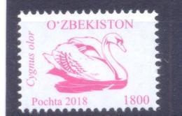 2018. Uzbekistan, Definitive, Bird, Issue VI, 1v, Mint/** - Uzbekistan
