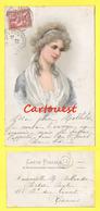 CPA Buste De Femme  - Coiffure - Mode - 1902 ( Chromo ) - Femmes