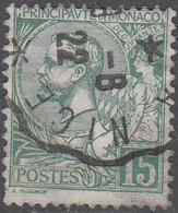 MONACO    SCOTT NO.  19     USED  YEAR  1891 - Usados