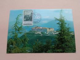 MONTECASSINO - CITA DEL VATICANO 4-9-65  ( Zie/voir Photo SVP ) - Maximumkaarten