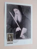 S. BENEDETTO PATRONO D'EUROPA - CITA DEL VATICANO 4-9-65  ( Zie/voir Photo SVP ) - Maximumkaarten
