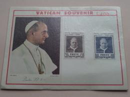 VATICAN SOUVENIR ( Patti LATERANENSI 1929 - 1959 ( Zie/voir Photo SVP ) ! - Vaticaanstad