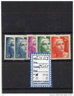 FRANCE LUXE ** 725/29 - France