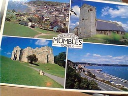 GALLES  MUMBLES  GOWER  Vues Castle Village STAMP SELO TIMBRE  18 P GX5457 - Galles
