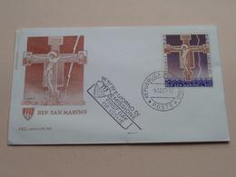 Rep. SAN MARINO - FDC Capitolium 62 - 1° Giorno Di Emissione 5-12-67 ( Zie/voir Photo SVP ) ! - FDC