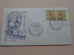 Giornata Del FRANCOBOLLO 4-12-66 - FDC Caitolium 103 ( Zie/voir Photo SVP ) ! - 1946-.. République