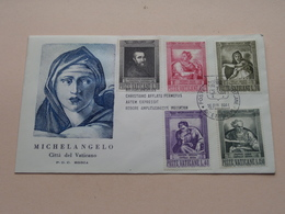 MICHELANGELO Citta Del Vaticano FDC Rodia - 1964 ( Zie/voir Photo SVP ) ! - FDC