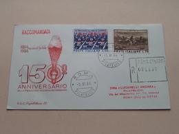 150° Anniversario Della Fondazione Dell'arma Dei Carabinieri FDC Capitolium 71 - Roma 5-VI-64 ( Zie/voir Photo) N° 2912 - F.D.C.