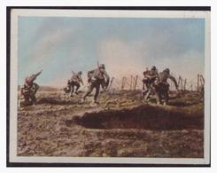 Dt.-Reich (004508) Sammelbild, Der Weltkrieg (1917), NR 132, Vorgehender Stoßtrupp - Allemagne
