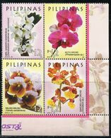 XE0907 Philippines 2016 Tropical Orchid 4V MNH - Filipinas