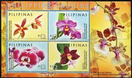 XE0909 Philippines 2016 Tropical Orchid S/S MNH - Filipinas