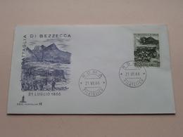 Battaglia Di BEZZECCA 21 Luglio 1866 -Roma 21 VII 66 Filatelico FDC Capitolium 98 ( Zie/voir Foto's ) + 2 Xtra Timbres ! - F.D.C.