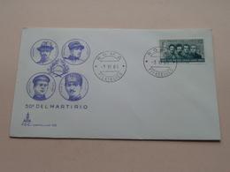 50° DEL MARTIRIO -Roma 3 XI 66 Filatelico FDC Capitolium 102 ( Zie/voir Foto's ) + 2 Xtra Timbres ! - 1946-.. République