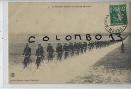 MILITARIA LE BATAILLON CYCLISTE EN COLONNE PAR TROIS - Manovre