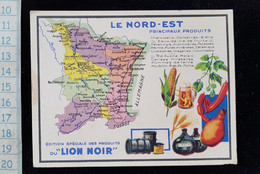Chromo Lion Noir, Nord Est - Chromos