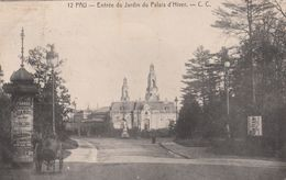 Cp , 64 , PAU , Entrée Du Jardin Du Palais D'Hiver - Pau