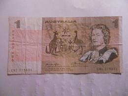 AUSTRALIE-BILLET 1 DOLLAR-1982-ETAT B - Emissions Gouvernementales Décimales 1966-...