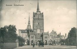 Ansichtskarte Rostock Kröpeliner Tor - Kutsche 1916  - Rostock