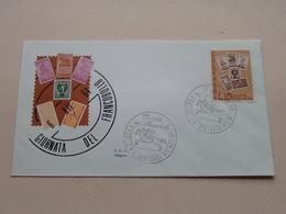 GIORNATA Del FRANCOBOLLO - Roma 6-XII-1964 FDC Siligato ( Zie/voir Foto's ) ! - F.D.C.