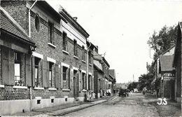 Bertincourt (Pas-de-Calais) - La Gendarmerie Et La Rue Clémenceau - Edition J. Souillard - Carte J.S. N° 3 Non Circulée - Bertincourt